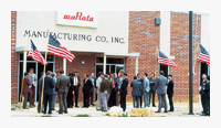 In 1973, Murata Manufacturing Co., Inc. was established in Georgia, U.S.A.