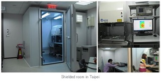 Shielded room in Taipei