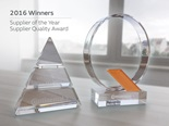Murata's Continental Supplier of the Year & Supplier Quality awards 2016