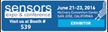 Murata is exhibiting at Sensors Expo 2016