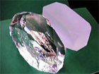 Quartz crystal for SAW devices